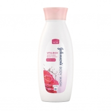 JOHNSON'S® Body Care Vita-Rich Soothing Body Wash with Rose Water