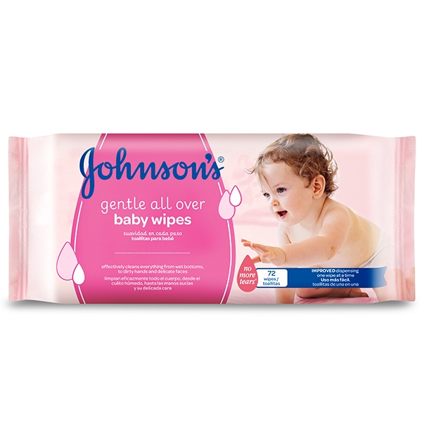 JOHNSON'S® Baby Gentle All Over Wipes