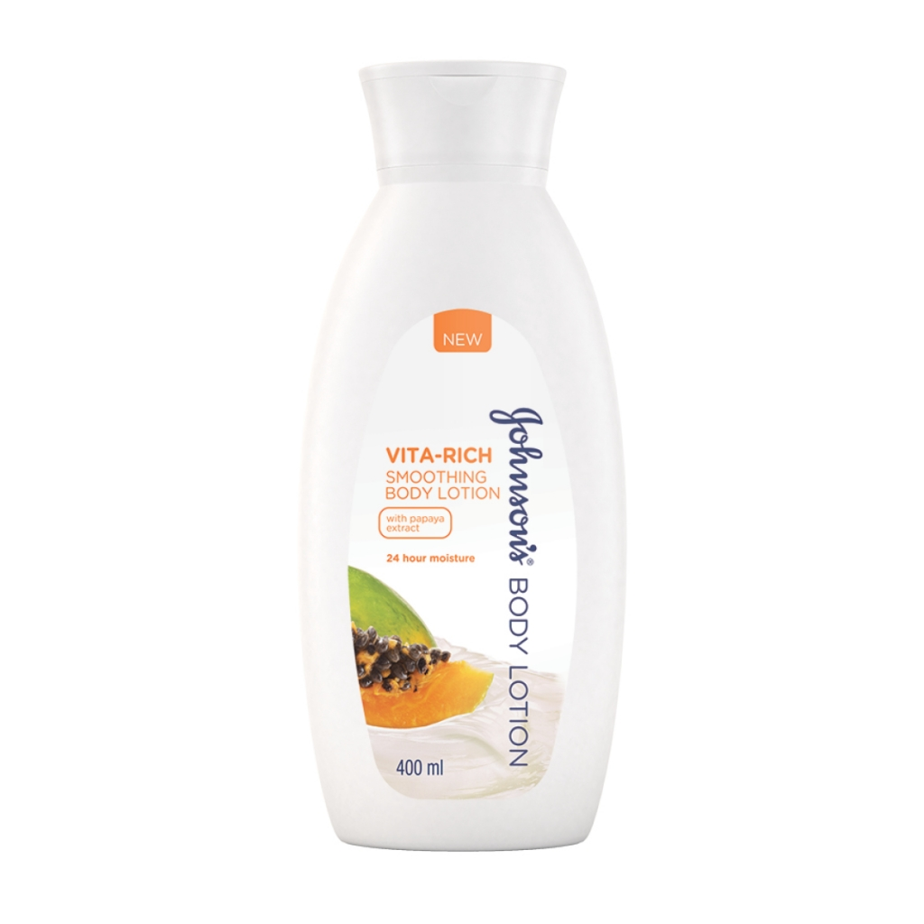 JOHNSON'S® Body Care Vita-Rich Smoothing Body Lotion with Papaya extract